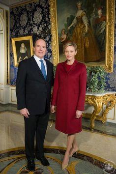 HSH Prince Albert II of Monaco and Princess Charlene of Monaco