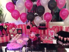 Victoria secret theme party. So in love