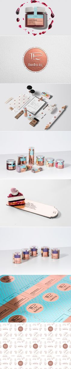 Pâtisserie Ludwig — The Dieline | Packaging & Branding Design & Innovation News