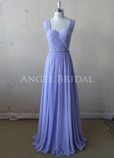 2015 Real Iamge Bridesmaid Dresses A-Line Light Pink One Shoulder Chiffon Long Formal Dress Gowns Grad Dresses, Dressy Dresses, Event Dresses, Homecoming Dresses, Cute Dresses, Beautiful Dresses, Dress Prom, Periwinkle Wedding, Periwinkle Dress