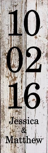 Custom Wedding Date Birthday Important Dates Wood Sign Canvas Art Wedding Anniversary Photo Wall Mother's Day Graduation by HeartlandSigns on Etsy