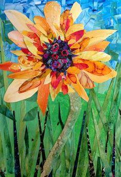 """Sunflower"" - Original Fine Art for Sale - © Kristen Dukat"