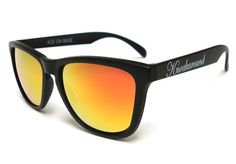 Gafas de sol negras. Marca KNOCKAROUND. UV400 protection FDA approved impact resistant lenses Frosted finish.