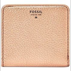 Fossil wallet Super cute and handy! Metallic color, looks like silver but I think it's gold. Fossil Bags Wallets