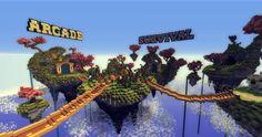 Server Hub ٩◔‿◔۶ Minecraft Project