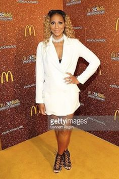 American TV icon Tamar Braxton-Herbert gracing the Red Carpet at Essence Festival in New Orleans looking Perfect in a LAISON tuxedo Jacket! Fashion Provided By #IvanBittonStyleHouse