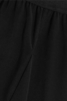 Rick Owens - Buds Crepe De Chine Shorts - Black - IT46