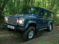 Land Rover Defender... Proud British engineering