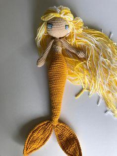 Channel Islands Mermaid Happy Crochet Mermaid Amigurumi