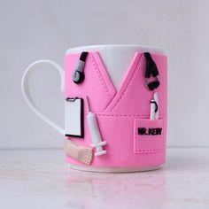 Nurse Mug Personalized Nurse Mug Nurse Gifts Gifts for Nurse Mugs, Nurse Gifts, Gifts For Surgeons, Gifts For Dentist, Clay Mugs, Doctor Gifts, Meaningful Gifts, Custom Mugs, Clay Crafts