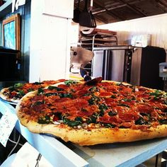 "Enjoy an Artisan #Pizza at Olde World Bakery in ""The Crossing""  in Bastrop #TX by BastropTXEDC, via Flickr"