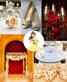 If Belle from Beauty and the Beast is your favorite Disney princess then your wedding style is...