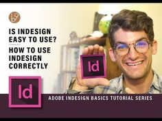 In this video I am going to explain how to use Adobe Indesign CC correctly so it is both easy to use and boosts your workflow. ► Learn Adobe Indesign with Tu. Web Design, Graphic Design, Create Business Cards, Basic Tools, Adobe Indesign, Create A Logo, Easy To Use, Being Used, Photo Editing