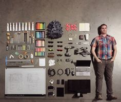 20 Things Organized In Neat And Creative Manner [PICS]