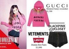 Được nhúng Kpop Fashion Outfits, Blackpink Fashion, Stage Outfits, Other Outfits, Korean Outfits, Women's Fashion Dresses, Korean Fashion, Fashion Clothes, Cute Edgy Outfits