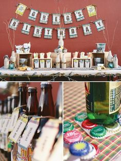 Adult Birthday Party :beer-tasting-party-