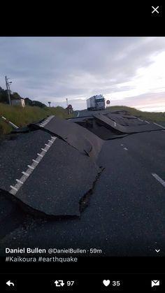 New Zealand earthquake - Kaikoura
