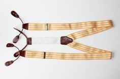 Orange suspenders kept him from flying