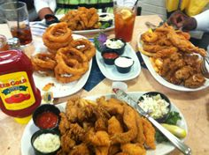 Ginormous seafood platters! Bring your appetite and bring and friend! #hometownpins #neworleans