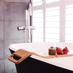 Love this bath tray: The top 12 looks from The Block: Triple Threat, via We-Are-Scout.com.