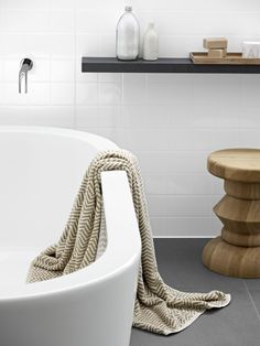 Back wall and shower panelling Laminex Aquapanel Polar White Large Tile. White Interior, Shower Panels, Home, Home Reno, Bathroom Renos, Splashback, Commercial Interiors, Large Tile, Bathroom Design Inspiration