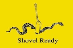 "A November ""shovel-ready"" project!  #voteGOPTeabaggersOut"