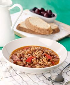 Cereal, Beans, Breakfast, Recipes, Food, Greek, Morning Coffee, Essen, Eten