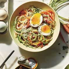 Carrot and Zucchini Pasta #Food #Drink #Musely #Tip