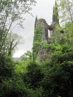 Abandoned Castle by alec_cullison on Flickr.