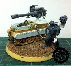 Forlorn Hope, heavy gun servitor