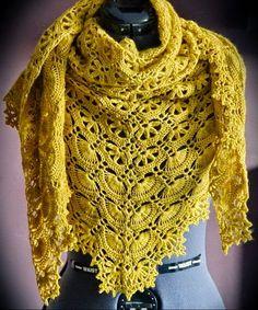 Crochet Shawls: Crochet Shawl Pattern - Maia Shawl - Fabulous