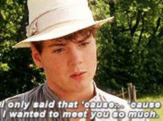 "25 Times Gilbert Blythe From ""Anne Of Green Gables"" Melted Your Heart oh too soon! I'm still heart broken. But this is beautiful!"