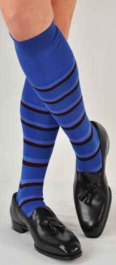 Bresciani 100% Egyptian Cotton 'Moda Milano' Block Stripe