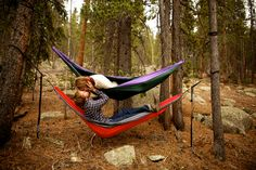 Hanging, Hiking, and Hammocking…An engagement session in Denver, Colorado. » One:One Photography