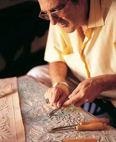Arte2, taller de cordobán, piel de cordero.