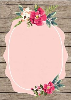 Pink wallpaper art with roses - print art Flower Backgrounds, Wallpaper Backgrounds, Iphone Wallpaper, Wallpaper Art, Galaxy Wallpaper, Art Buddha, Deco Floral, Binder Covers, Floral Border