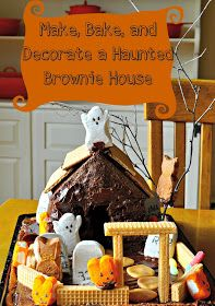 Hey What's for Dinner Mom?: Bake, Make, and Decorate a Haunted Brownie House