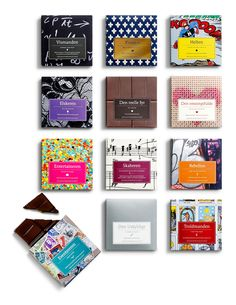 Package Design for 12 chocolates