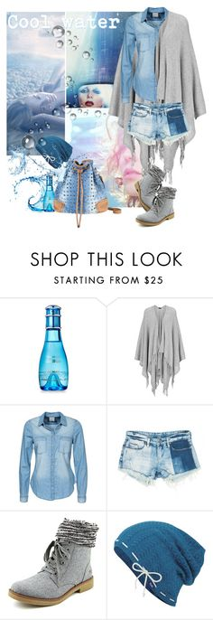 """Cool Water"" by fiery555 ❤ liked on Polyvore featuring JEM, Davidoff, Joseph, SUITEBLANCO, Vero Moda, Sans Souci, Rocket Dog and Keds"