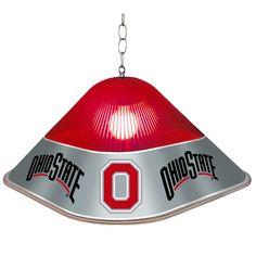 Ohio State Rooms, Ohio State University, Ohio State Buckeyes, Ohio State Wreath, Billiard Room, Pull Chain, Table Games, Light Table, Digital Prints