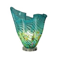 Found it at Wayfair - Dale Tiffany Coral Wave Favrile 1 Light Table Lamp 5dfb5f77648f