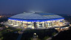 Veltins Arena, Home of FC Schalke 04 — What an amazing stadium !!!