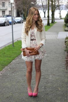 floral blazer outfits - Google Search
