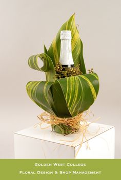 Bottle wrap | by GWC Floral Design