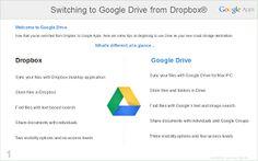 Dropbox® or Box® - Google Apps Learning Center v4