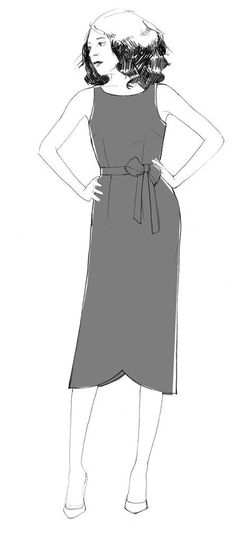 Orsola Dress & Skirt - PDF sewing pattern – By Hand London Winter Dress Outfits, Casual Summer Dresses, Trendy Dresses, Boho Outfits, Nice Dresses, Dresses For Work, Chic Dress, Boho Dress, Blouse Dress