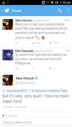 #AlexHirsch