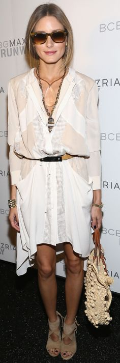 Olivia Palermo's already an ace at bridal style