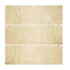 Jeffrey Court Creama 4 in. x 12 in. Polished Marfil Wall Tile (3-Pack)  $8.99 sq. ft