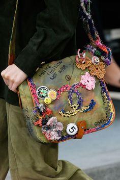 Chanel, Frühjahr, Sommer, 2015, Tasche Make Fashion Not War